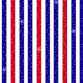 Stars & Stripes -  © PinkSodaPop 4ComputerHeaven.com