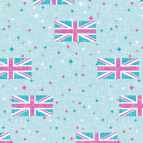 Jubilee Jack fabric by inscribed_here on Spoonflower - custom fabric