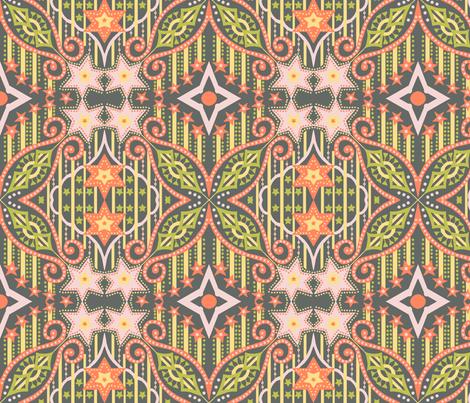 cosmic_rays 1 fabric by vedanta on Spoonflower - custom fabric