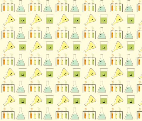 mad science -mini fabric by avelis on Spoonflower - custom fabric
