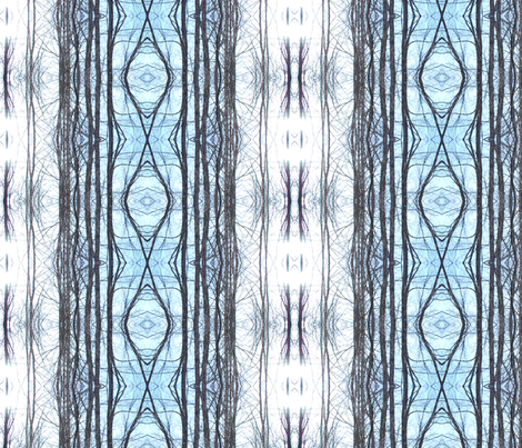 sky sun blue bridge fabric by eat_my_sweet_dust on Spoonflower - custom fabric