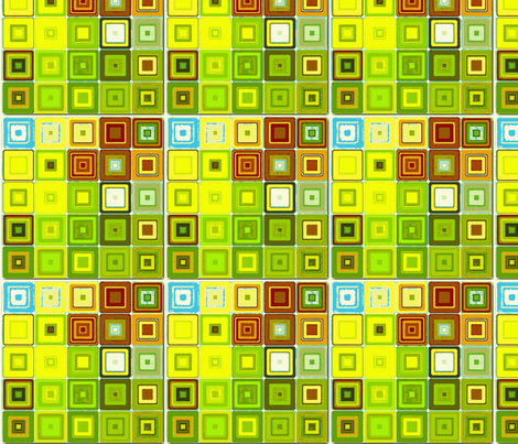 Mosaic fabric by flyingfish on Spoonflower - custom fabric