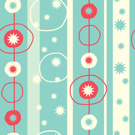 Party in the USA fabric by acbeilke on Spoonflower - custom fabric