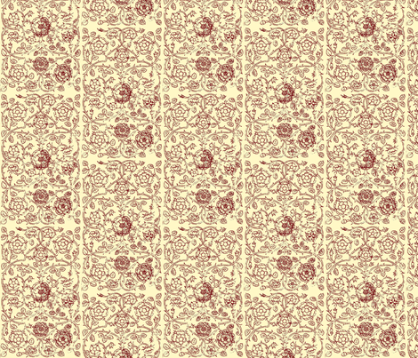 Queen Elizabeth I fabric by flyingfish on Spoonflower - custom fabric