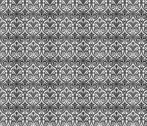 Italianate white fabric by flyingfish on Spoonflower - custom fabric