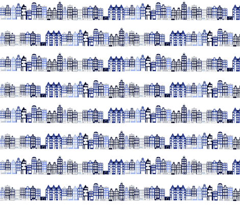 Keizergracht fabric by oceanpien on Spoonflower - custom fabric