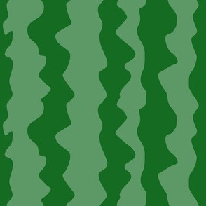 Watermelon Green Stripes