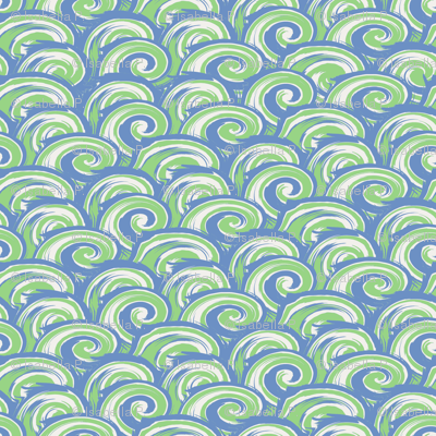 Wave Zone - Blue-Green (small)