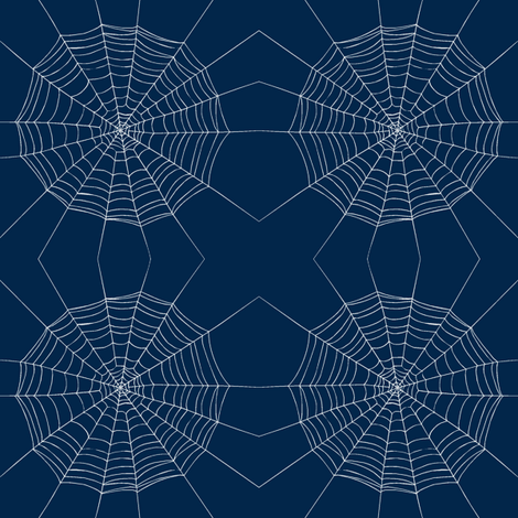 dark webs fabric by keweenawchris on Spoonflower - custom fabric