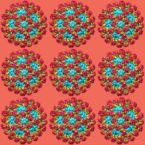 norovirus fabric by karidebbink on Spoonflower - custom fabric
