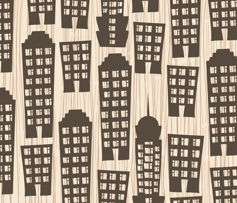 buildings fabric by anastasiia-ku on Spoonflower - custom fabric