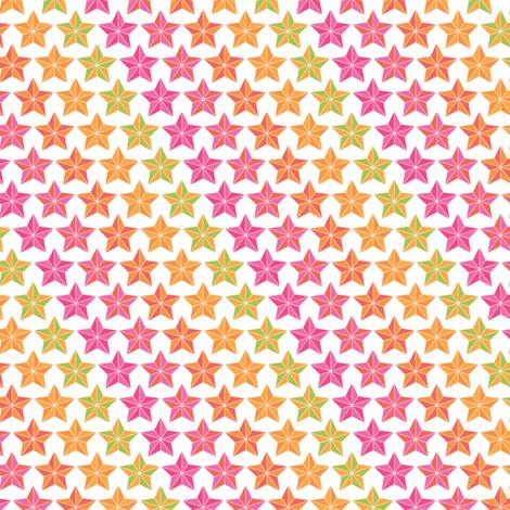 Sweetshop Stars in Stripes fabric by ebygomm on Spoonflower - custom fabric