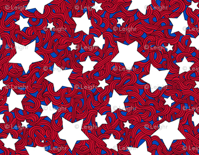 Tangled Stars & Stripes