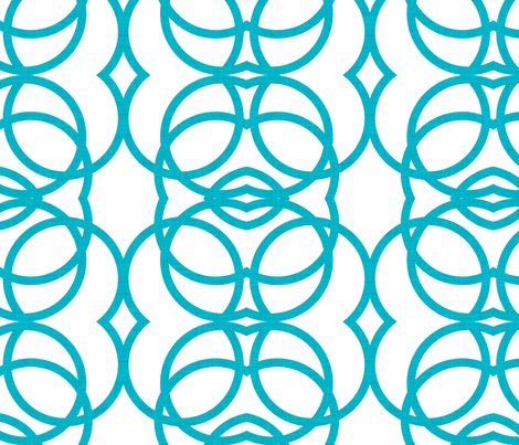 aqua_circles_full fabric by holli_zollinger on Spoonflower - custom fabric