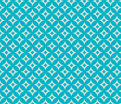 diamond_circles_aqua_full fabric by holli_zollinger on Spoonflower - custom fabric