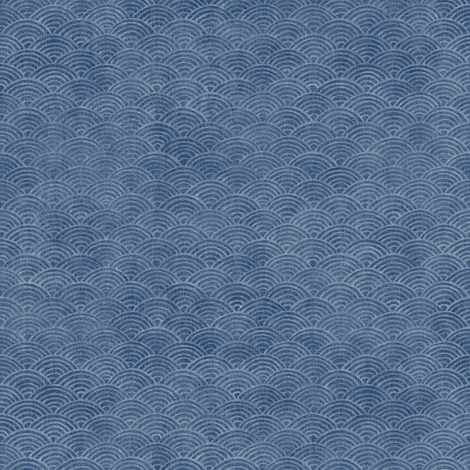 Surf in Indigo fabric by forest&sea on Spoonflower - custom fabric