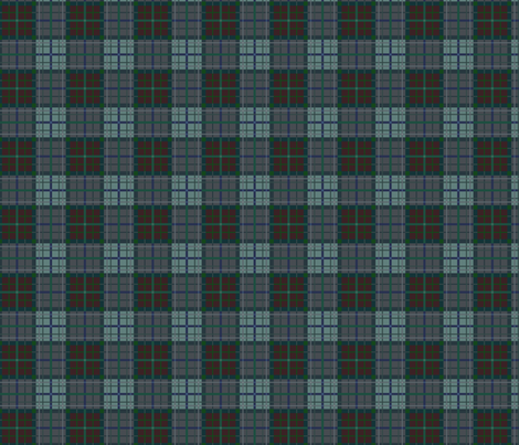Tartan of an arrow slinging clan: Ver. 2 Brave fabric by ani_bee on Spoonflower - custom fabric