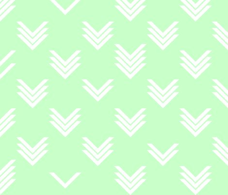 Rirregular_chevrons_mint_white_shop_preview