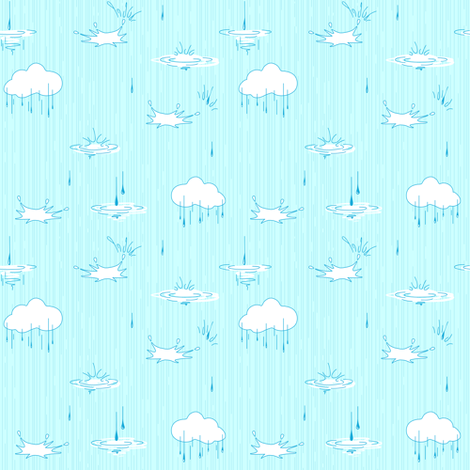 Sky background. Blue. fabric by yaskii on Spoonflower - custom fabric