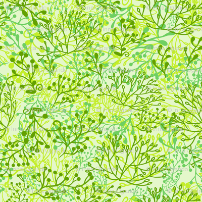 Plants background. Green