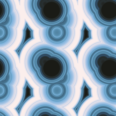 Malachite 3 fabric by animotaxis on Spoonflower - custom fabric