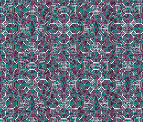Vaults fabric by candyjoyce on Spoonflower - custom fabric