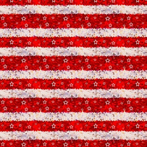 Stars And Stripes Stars on Red Stripes, ATD 519