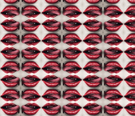 true blood tasty fabric by geekinspirations on Spoonflower - custom fabric