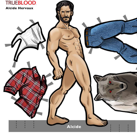 Alcide_doll fabric by geekinspirations on Spoonflower - custom fabric