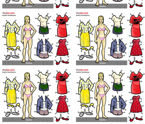 sookie_doll fabric by geekinspirations on Spoonflower - custom fabric
