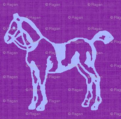 Purple Ponies