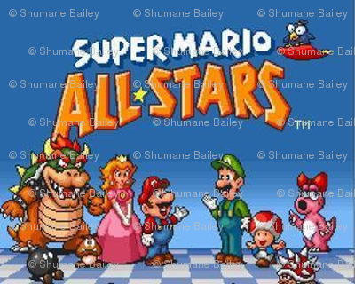 super mario allstars