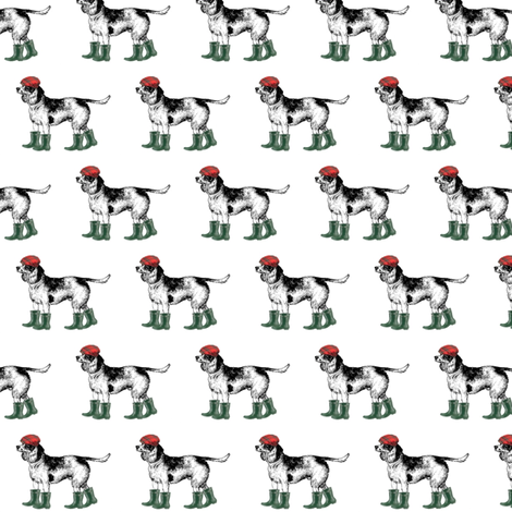 Scottish Beagle fabric by ragan on Spoonflower - custom fabric