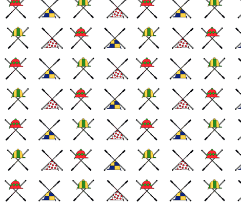Hats and Bats fabric by ragan on Spoonflower - custom fabric