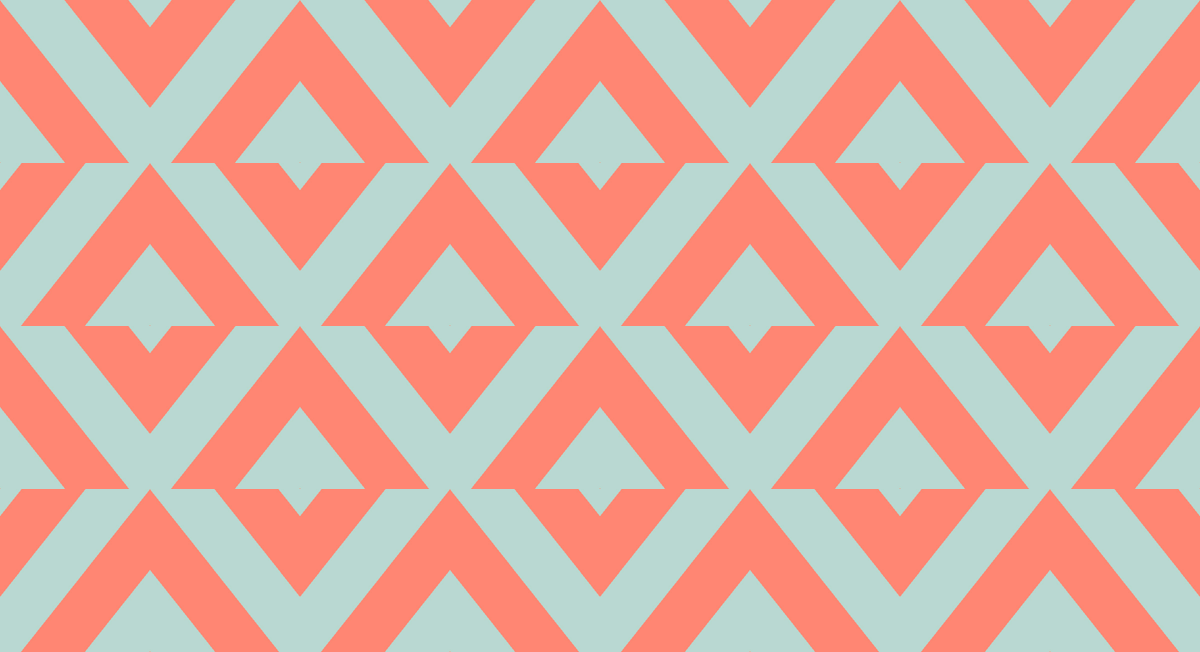 mint chevron patterns coral - photo #27