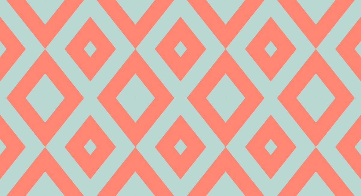 mint chevron patterns coral - photo #2