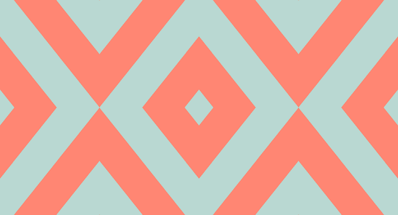 mint chevron patterns coral - photo #49