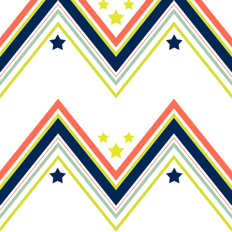 Stars and Stripes fabric by mgterry on Spoonflower - custom fabric