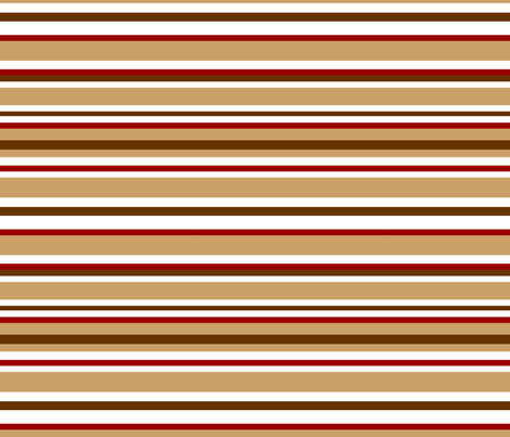 Barrel Monkey Coordinating Stripe fabric by stickelberry on Spoonflower - custom fabric