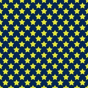 Navy Neon Star