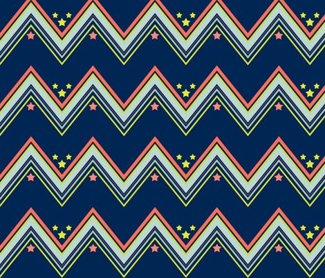 Starsand Stripes fabric by mgterry on Spoonflower - custom fabric