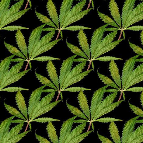 Twenty Past Four fabric by weedgarden on Spoonflower - custom fabric
