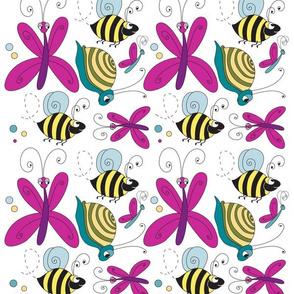 Butterflies, Snails & Bees!