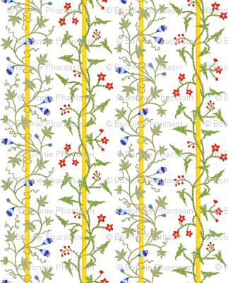 Rococo - Stripes and Vines - c. 1726-27