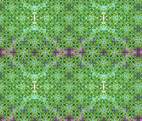 Leaves_carpet fabric by lavaflowzzz on Spoonflower - custom fabric