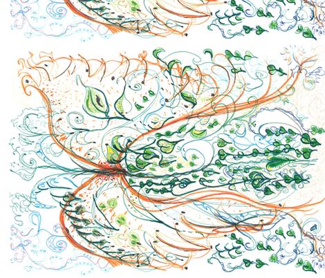 Storybook  Francy Flys  Away fabric by skitzykit on Spoonflower - custom fabric