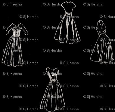 Classic Cocktail Dresses - Black