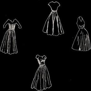 Classic Cocktail Dresses - Black