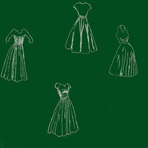 Classic Cocktail Dresses - green