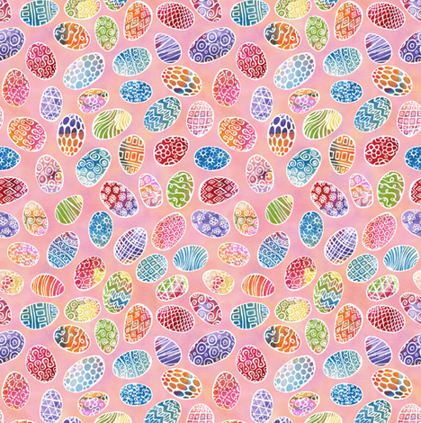 Egg Scatter fabric by ghennah on Spoonflower - custom fabric